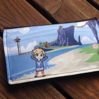 Hand drawn and printed fan art on custom case